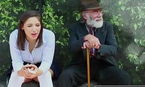 Realitykings - nubiles be in love with massive jocks - (abella danger) - bus bench creepin