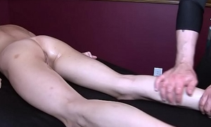 Dillion Carter Gets Erotic Massage and Pinch Ending