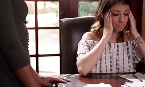 Junior lesbian couple have fun - Kristen Scott and Jasmine Summers