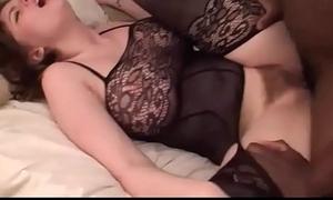 Busty Brunette Teen Hooks Roughly &amp_ Fucks A Big Black Cock