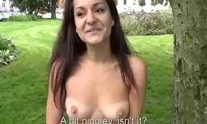 Teen Euro Babe Fucked In Public By Horny Tourist For A Few Euros 16