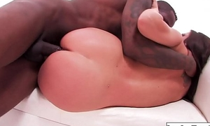 Lola gets pounded by big black cock