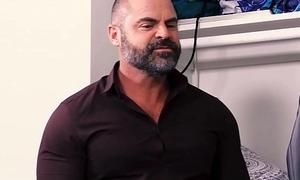 Stepdad Helps Porn Watching Twink Son Wank