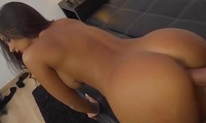 Sexy Spanish Thick Latina Stripper Fucked