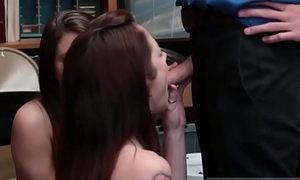 Teen ass two girls Petty Theft