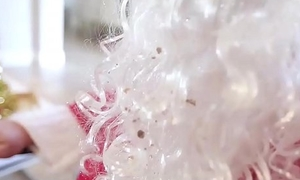 Cute Teen Creampie From Santa Claus