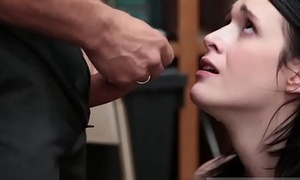 Gauge police and fake cop creampie Suspect was caught red transferred by